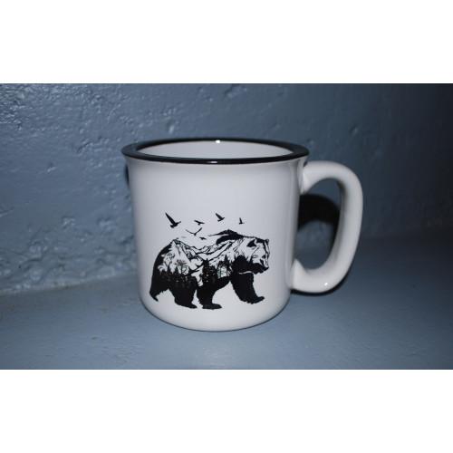 Mug vintage ours design