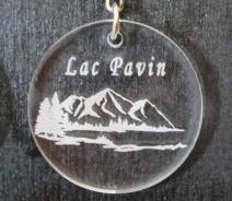 Porte-clefs plexis lac